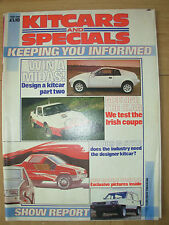 KITCARS AND SPECIALS MAGAZINE JUNE 1985 SHOW REPORT
