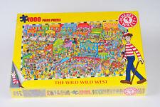 Where's Wally 1000 Piece Jigsaw Puzzle - The Wild Wild West - New & Sealed