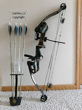 "POWERFUL HEAVY DUTY GOLDEN EAGLE COMPOUND BOW 65-80#@30"" R/H QUIVER ARROWS/HEADS"