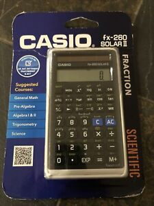 Casio Fx-260 Solar II Scientific Calculator
