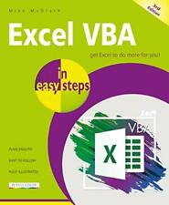 Excel VBA in easy steps, 3rd edition by Mike McGrath