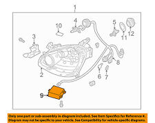 Infiniti NISSAN OEM 02-04 Q45 Headlight Head Light Lamp-Actuator 26055AR010