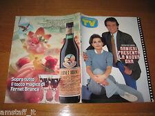 TV SORRISI E CANZONI=1989/41=MASSIMO RANIERI=ANNA OXA=JANE BADLER=MIKE BONGIORNO