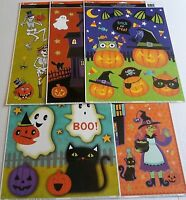 HALLOWEEN Window Clings Assortment  #2  {Your Choice}