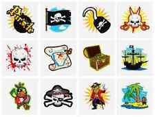 144 X Enfants Garçons / Filles Pirate Tatouages Temporaires Transferts N51 040
