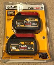 DeWalt DCB606-2 20/60V MAX FLEXVOLT 6.0 Ah Battery 2 Pack (NEW SEALED) (DUAL)