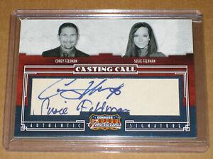 👽 2009 DONRUSS AMERICANA COREY SUSIE FELDMAN PLAYBOY SIGNED AUTO autograph CARD