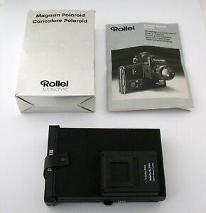 ROLLEI Polaroid Magazin instant film holder SL2000 F 3003 3001 Rolleiflex /21