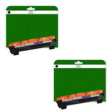 2 noir cartouches de toner pour Brother HL-1110 HL-1112 MFC-1810 non-oem TN1050