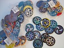 LASER SPIN TOP 1.5''  LOT OF 144 CARNIVAL, PARTY TOYS  FAVORS ASSORTED COLORS 5+