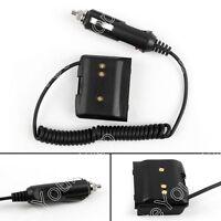 1x Car Charger Battery Eliminator Adapter For Yaesu VX-7R VX-6R VX-5R Radio