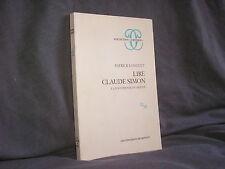 Lire Claude Simon par Patrick Longuet la polyphonie du monde