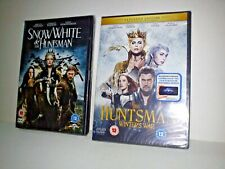 Snow White And The Huntsman DVD + The Huntsman Winter's War Extended Edition DVD