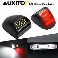 2x Auxito Led License Plate Light Tube For Chevy Silverado Gmc Sierra 1500 2500