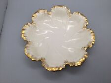 New ListingLenox Oyster Plate gold trimmed edges