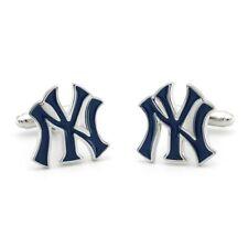 New York Yankees NY Logo Baseball Cufflinks - Brand New - US Seller