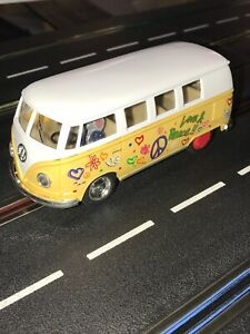 1962 VolksWagen Bus Slot Car With Carrera Chassis, 1/32 Scale.....