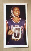 1979 Brooke Bond Olympic Greats #5 Wilma Rudolph Card
