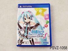 Project Diva f Best Japanese Import PS Vita PSVita Japan Region Free US Seller A