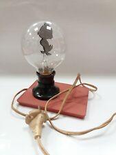 Vintage Old Rare Bulg Glim Desck Lamp Disney Characters Duck