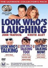 Look Who's [Laughing] Talking+Too!+Now! 1+2+3 DVD John Travolta Kirstie Alley R4