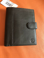 New Samsonite Leather Wallet/documents Soft Leather/black