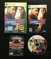 WWE SmackDown vs Raw 2009 — Complete w/ Manual! Fast Shipping! (Xbox 360, 2008)