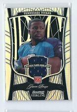 Javon Ringer 2009 Bowman Sterling RC Jersey Black Refractor Card #152 LTD #30/50
