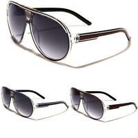 New Mens Boys Womens Aviator Retro Black Mirror Vintage Sunglasses UV400 OL38