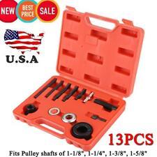AC Pulley Puller & Installer Power Steering Pump Remover Alternator - 13 Pcs Kit