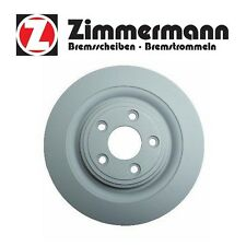 Jaguar S-Type Super V8 XF XJ8 XJR Rear Zimmerman Disc Brake Rotor Zimmermann