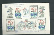 1984 MNH Tschechoslowakei Mi block 59