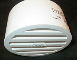 NDS 3 INCH DRAIN GRATE COVER FOR OUTDOOR PVC DRAIN PIPE COVER 912 STYRENE NEW
