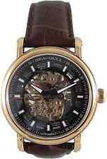 US Seller SEA-GULL Rose Gold men's watch 519.338K Automatic Skeleton