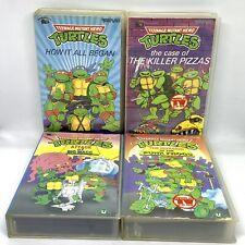 Teenage Mutant Hero Turtles 4 x VHS Bundle - Tempo Video