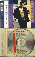 GEORGE LAMOND - where does that leave love 6 trk CD 1992 & INFO