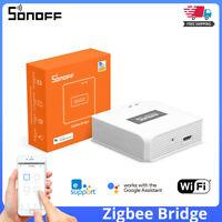 SONOFF Smart Home Zigbee Bridge Wireless Remote Controller For Alexa Google Home