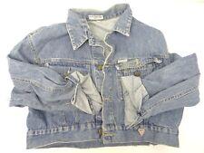 Vintage Used Ladies Guess? Georges Marciano Large Jean Jacket Clothing