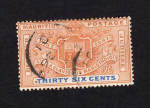 Mauritius 1898 stamp SG#133 used CV=38$