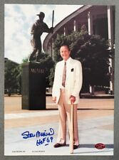 Stan Musial signed 8x11 autographed baseball photo St. Louis Cardinals (STM COA)