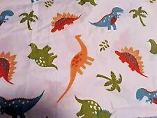 Kids Dinosaurs Twin Bedding Printed Polyester Flat Sheet Soft