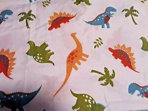 Vintage Dinosaur Print Bedding Twin Flat Sheet