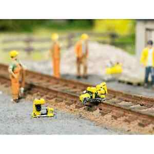 Noch 13640 1/87 Ho Decors Kit Work Of Rails Maintenance Saw + Drill H0