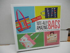 Tote-Ally Amazing Bags Purses Patterns Sewing Guide Book Helen Henley