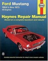 Haynes Repair Manual: Ford Mustang I, 1964 1/2-1973 No. 357 by M. B. Gilmour and