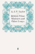 British Prime Ministers and Other Essays-ExLibrary