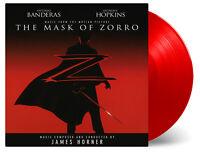 Original Soundtrack Mask Of Zorro  2 x vinyl lp solid red colour MOVATM193C ltd