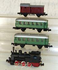 4x Arnold: máquina de vapor t3, a los turismos, vagones pista n
