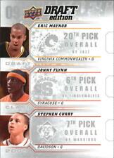 2009-10 UD Draft Edition Draft Class Eric Maynor Jonny Flynn Stephen Curry
