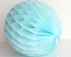 4 inch HoneyComb Tissue Paper Ball Lantern Pom Poms Wedding Birthday Photo shoot